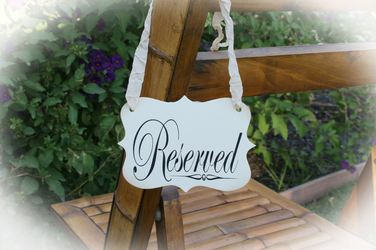 Reserved Seating Signs Image