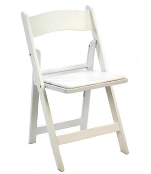 Garden Chairs - White Image