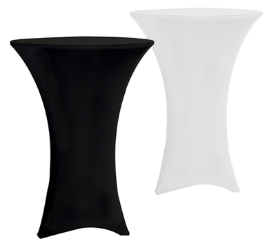 Spandex Cocktail Table Cover Image
