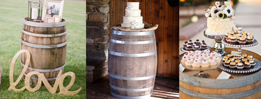 oak-barrels-wedding-decor