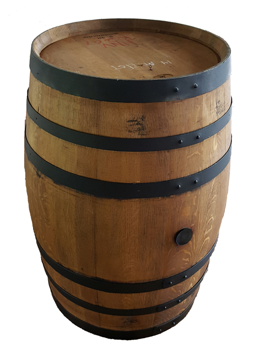 Oak Whiskey Barrel Image