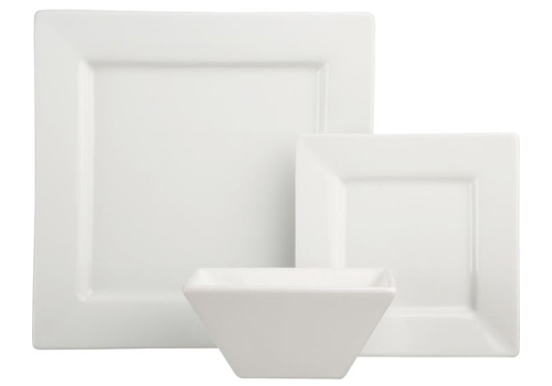 Square White Dishware Image