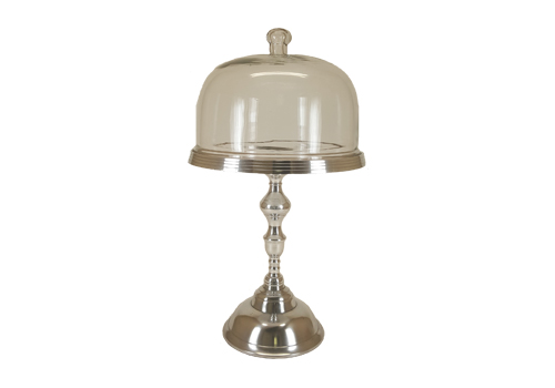 Silver Cake Stand Image